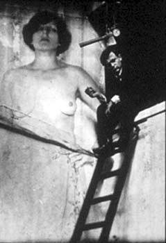 Tzara par Man Ray 1921